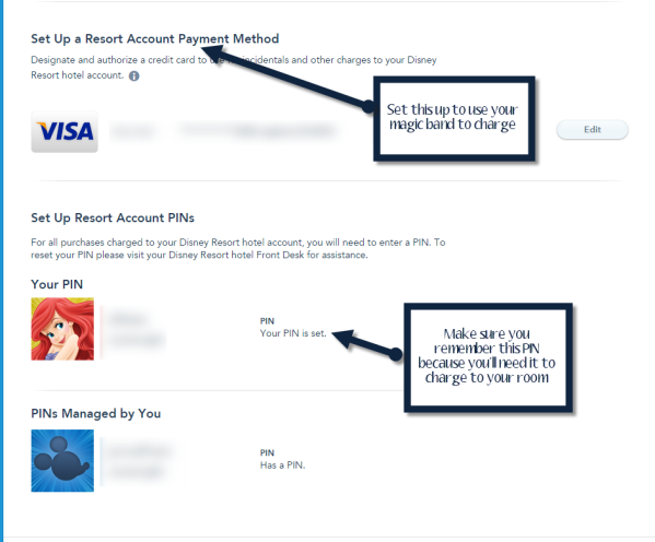 How to check Into A Disney Resort online - Step 2